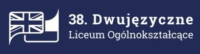 38. Dwujęzyczne Liceum Ogólnokształcące w Poznaniu Logo